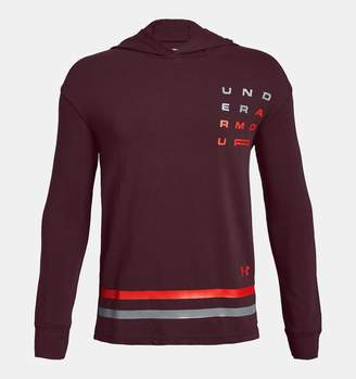 Under Armour Boys' UA Wordmark Graphic Hoodie