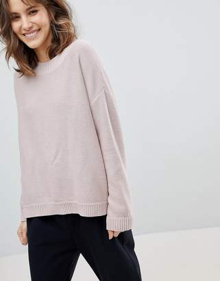 Selected Eco Organic Cotton High Neck Jumper