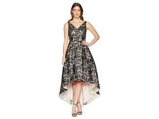 Calvin Klein Embroidered High-Low Gown CD8BR07L