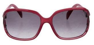 Emilio Pucci Square Gradient Sunglasses