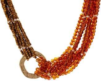 Susan Graver Multi Layered Beaded Necklace