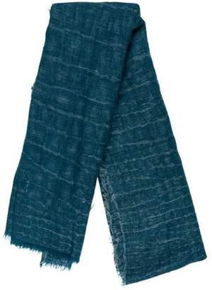 Saint Laurent Cashmere & Silk Woven Scarf