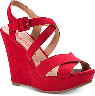 American Rag Rachey Dress Platform Wedge Sandals, Created for Macy's Women's Shoes