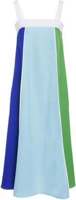 MDS Stripes Vertical Stripe Cami Dress