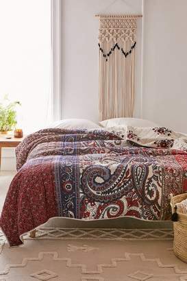 Urban Outfitters Willa Patched Paisley Quilt