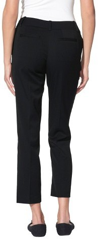 Merona Women's Twill Ankle Pant - (Curvy Fit) - Assorted Colors