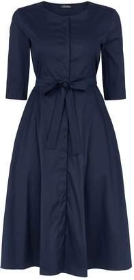Max Mara Tie Waist Dress
