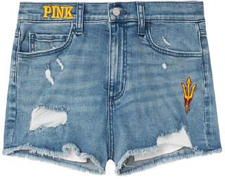 PINK Arizona State University High-Waist Denim Short