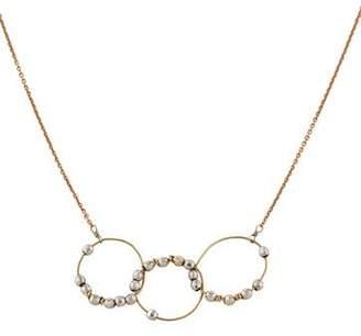 Interlocking Circle Pendant Necklace
