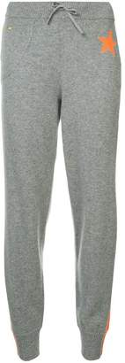 Bella Freud side stripe track pants