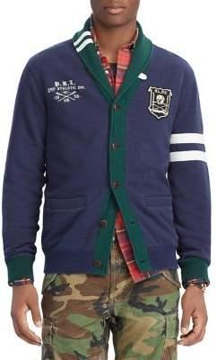 Polo Ralph Lauren Cotton-Blend Fleece Shawl Cardigan