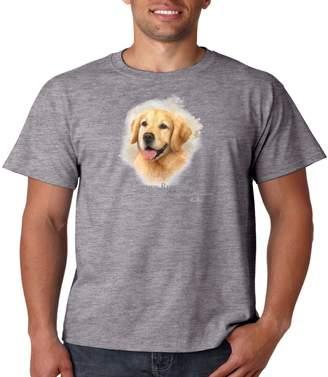 Golden Retriever Juiceclouds T Shirt Dog Owner Mens Tee S-5XL (, L)