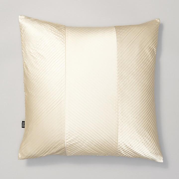 "HUGO BOSS BOSS HOME for Layered Pleat Decorative Pillow, 20"" x 20"""