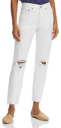 Levi's Wedgie Icon Tapered Jeans in Light Relief