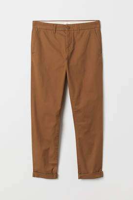 H&M Cotton chinos Slim Fit - Beige