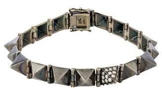 Anita Ko 18K Diamond Spiked Link Bracelet
