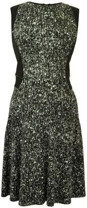 Kenneth Cole New York Fleck Print Dress