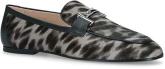 J.P Tods Cuoio Spotted Loafers