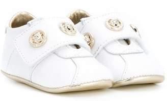 Versace Medusa logo pre-walker shoes