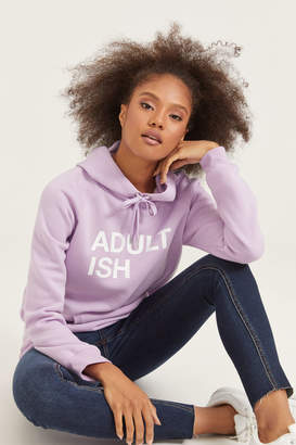 Ardene Fleece-Lined Graphic Hoodie