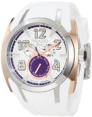 Mulco Unisex MW1-17186-015 Deep Shark Chronograph Swiss Movement Watch