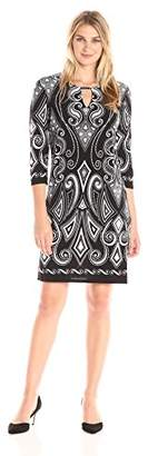 Tiana B Women's Puff Print Dress