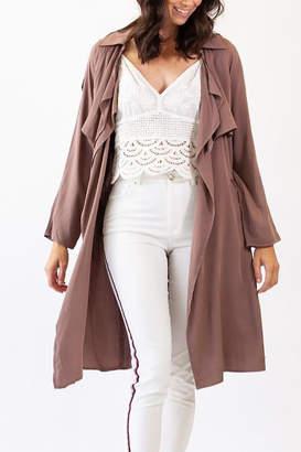 Pink Martini Brown Jacket