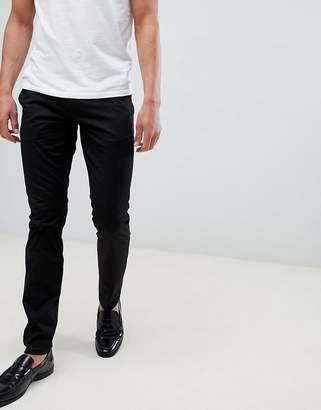 HUGO Slim Fit Chino In Black