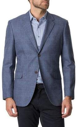 Rodd & Gunn Men's Challis Plaid Two-Button Jacket