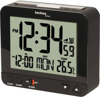 Technoline WT 195 Radio-Controlled Alarm Clock with Night Light