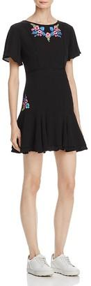 RahiCali Tropics Ruffle Dress - 100% Exclusive $108 thestylecure.com