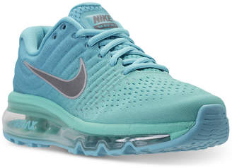Nike Girls' Air Max 2017 Running Sneakers from Finish Line $155 thestylecure.com