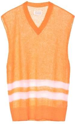 Maison Margiela Mohair-blend sweater vest