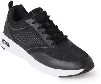 Fila Black & White Memory Chelsea Knit Sneakers