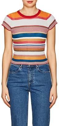 Rag & Bone Women's Katie Metallic Striped T-Shirt