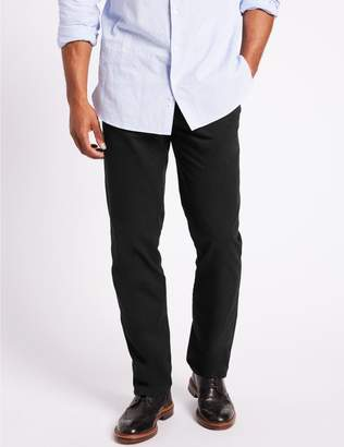 Marks and Spencer Pure Cotton Regular Fit Chinos