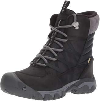 Keen Women's Hoodoo III Lace up Mid Calf Boots, Black/Magnet