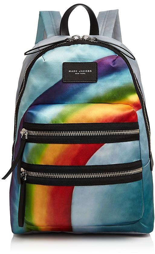 Marc JacobsMARC JACOBS Rainbow Nylon Backpack