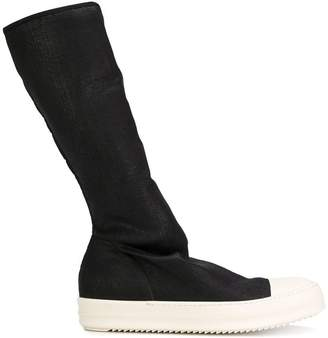 Rick Owens sneaker knee-high boots