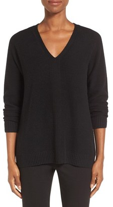 Women's Nordstrom Collection V-Neck Cashmere Pullover $299 thestylecure.com