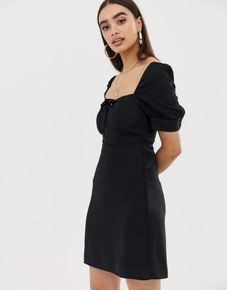 Fashion Union square neck tea dress