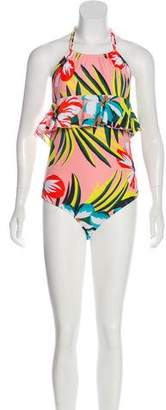 Salinas Printed One-Piece Swimsuit w/ Tags