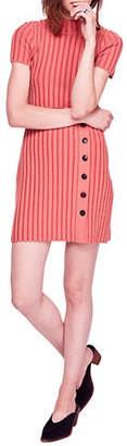 Free People Lottie Ribbed A-Line Dress