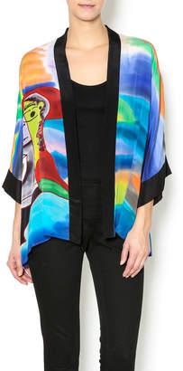 Patricia's Presents Silk Painted Kimono 2 $179 thestylecure.com
