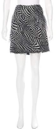 ADAM by Adam Lippes Silk Frayed Skirt w/ Tags