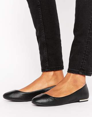 Call it Spring Call It Spring Fibocchi Metal Heel Ballet Flat Shoes $38 thestylecure.com