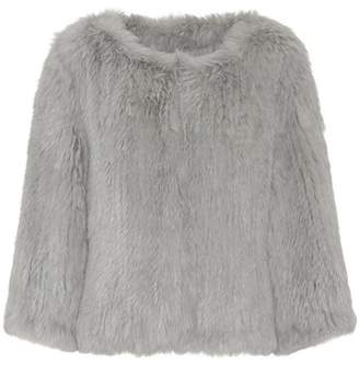Yves Salomon Meteo Fur jacket