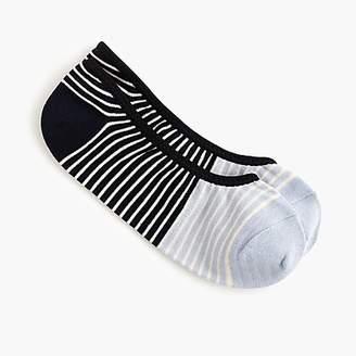 J.Crew Performance no-show striped socks