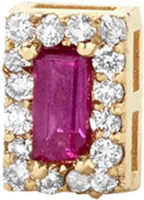 Alison Lou Ruby Single Stud Earring