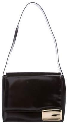 Gucci Spazzolato Flap Bag